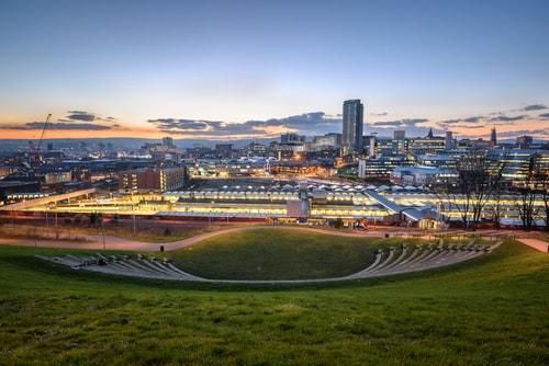 Sheffield skyline